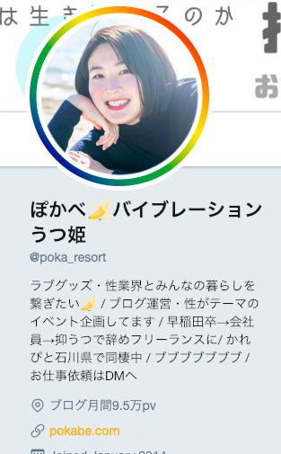 Twitterプロフィール画像